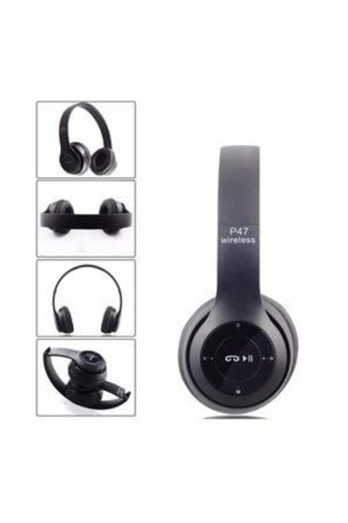 BLUE İNTER P47 5.0+edr Wireless Headphones Bluetooth Kulaklık 1