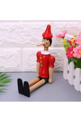 Hormiga Ahşap Pinokyo Hareketli Kukla Manken Adam Figür Tahta Oyuncak 30 cm