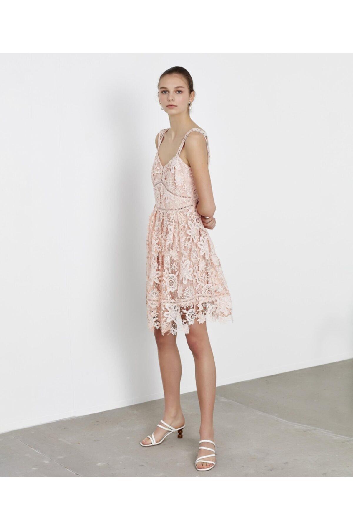 İpekyol Güpür Elbise 1