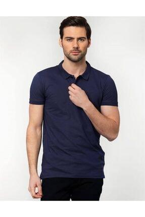 Tudors Slim Fit Polo Yaka Spor Erkek T-shirt