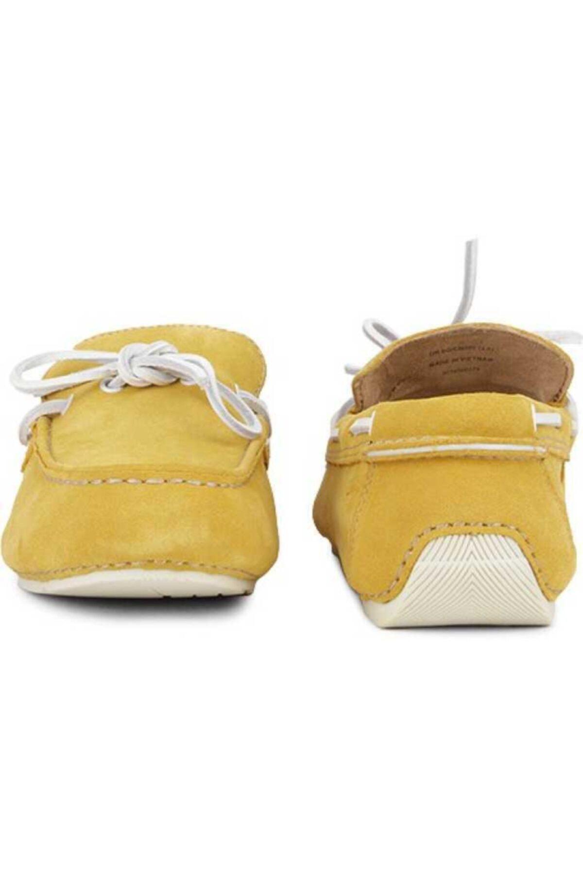 CLARKS Erkek Sarı Hakiki Deri Ayakkabı 2