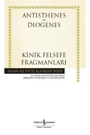 İş Bankası Kültür Yayınları Kinik Felsefe Fragmanları (Ciltli)