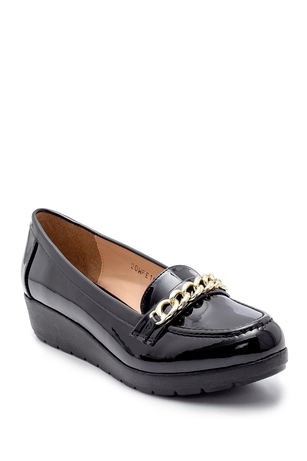 Derimod Kadın Rugan Ayakkabı 2