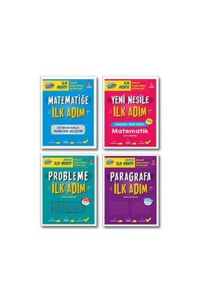 İlk Adım Yayınları Tyt Matematiğe Yeni Nesile Probleme Paragrafa Ilk Adım Set 4 Kitap