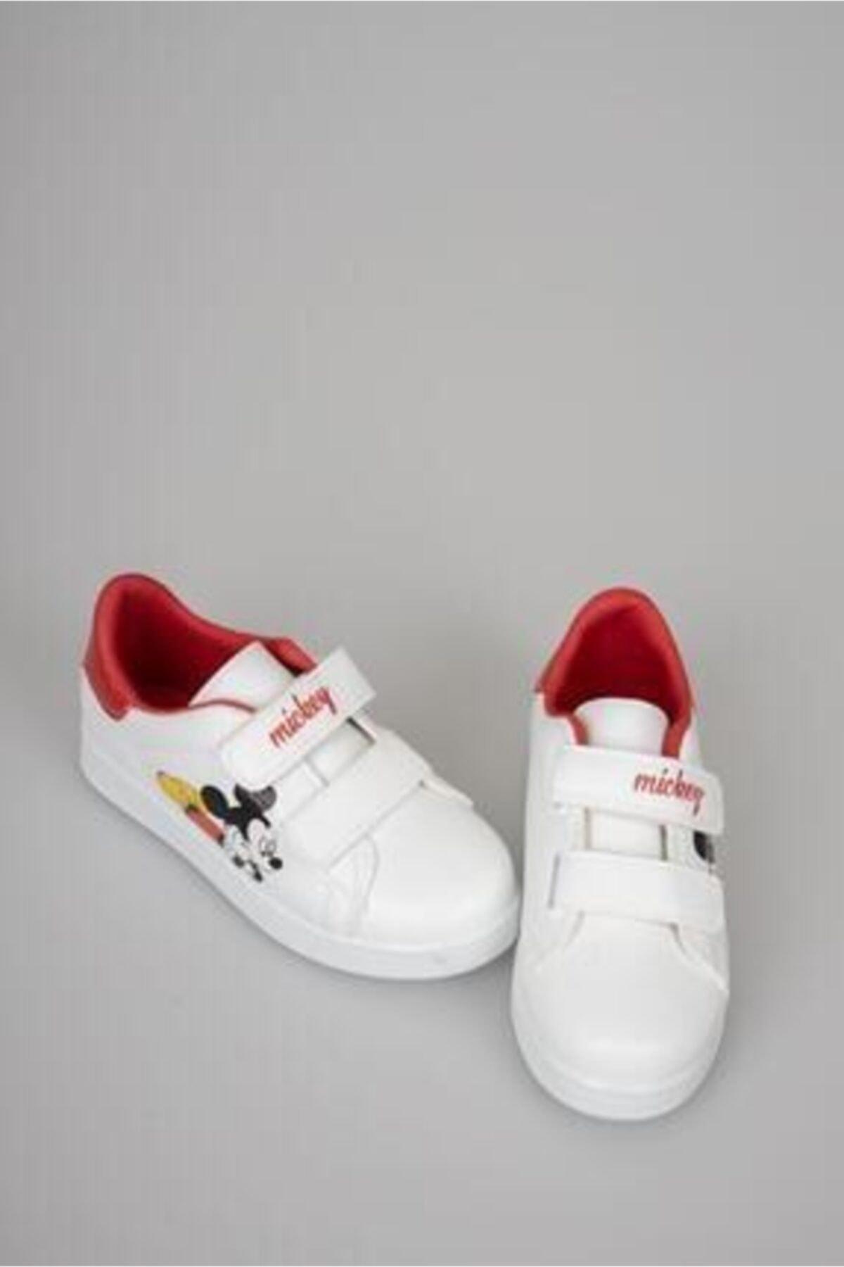 Talika Çocuk Beyaz Çırtlı Günlük Spor Ayakkabı 1