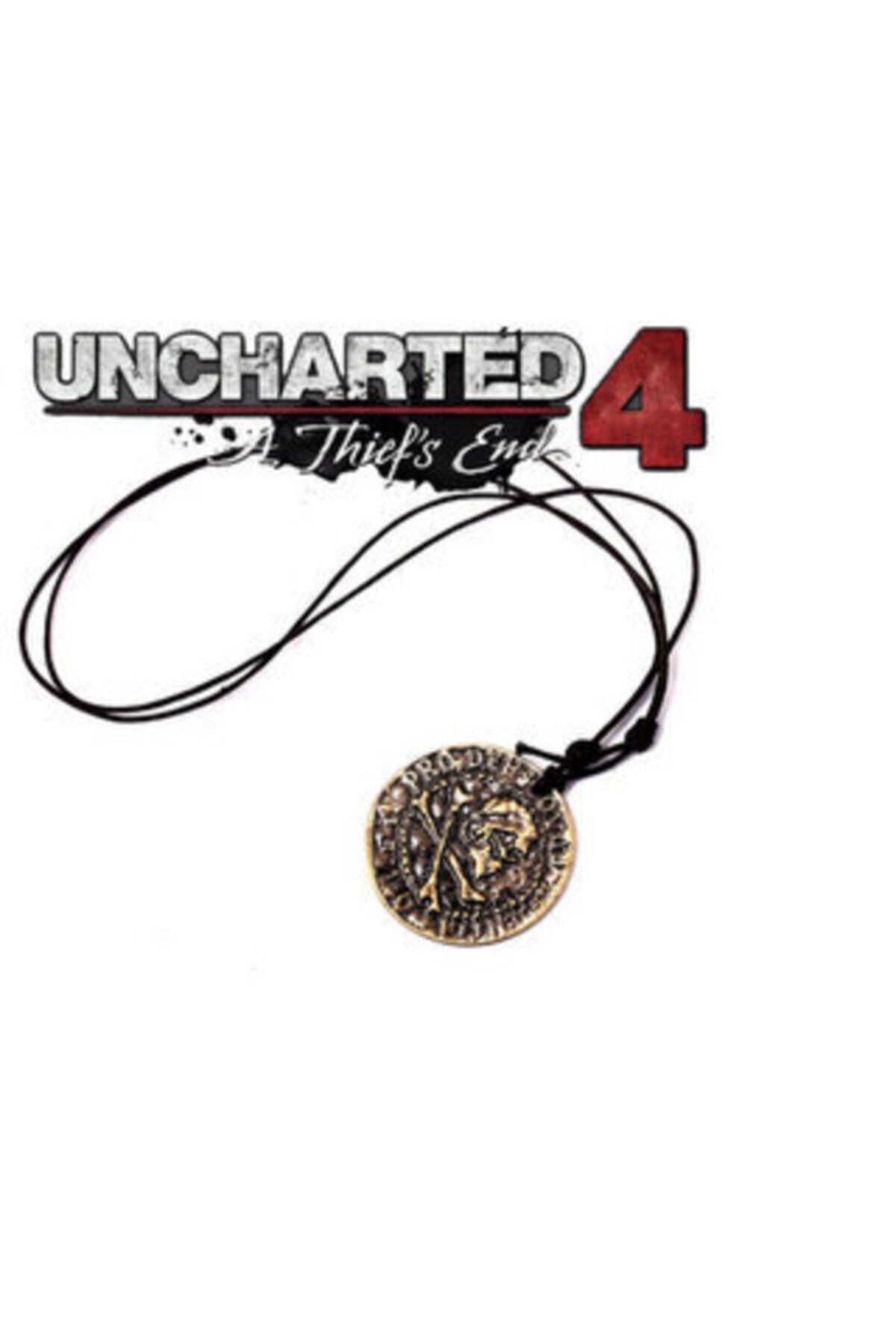 daisybydaisy Uncharted 4 A Thief's End Nathan Drake Korsan Sikke Uncharted Kolye 1