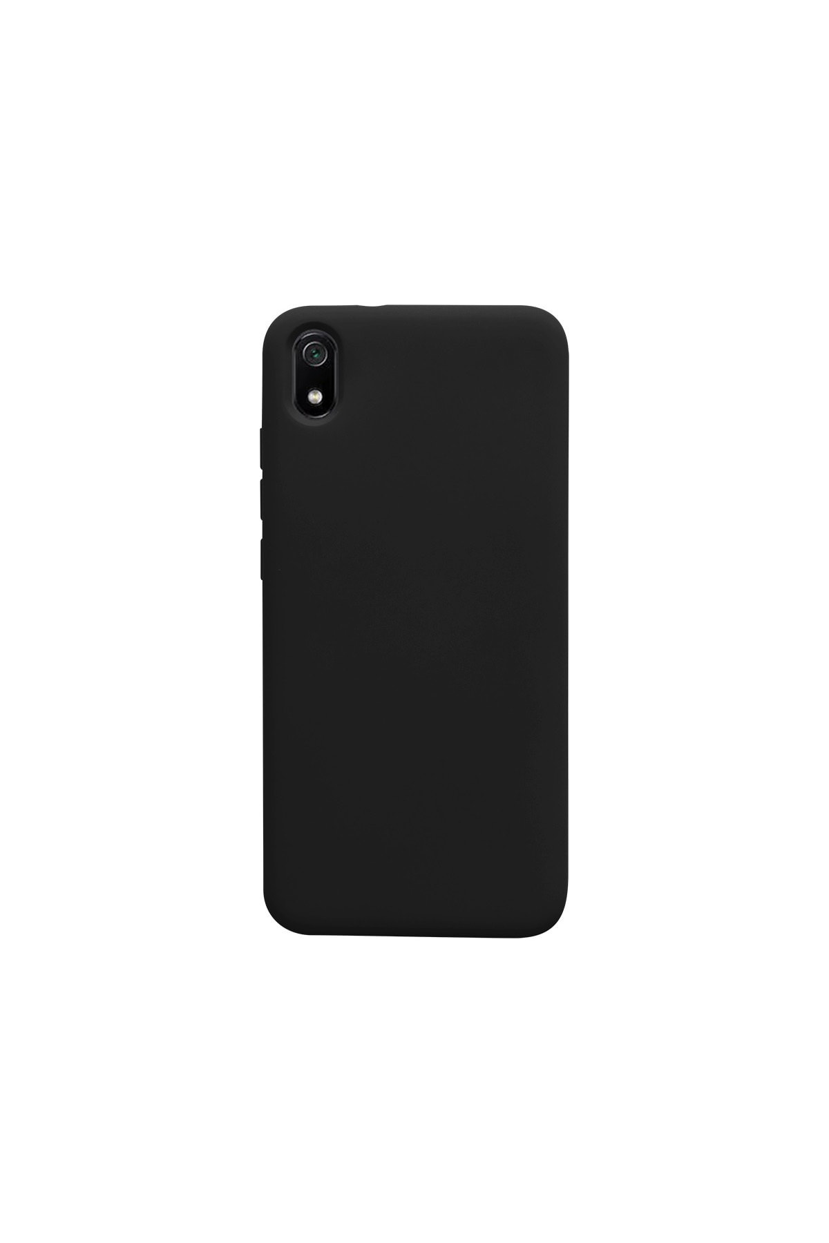 casemarkt Xiaomi Redmi 7a Lansman Siyah Silikon Telefon Kılıfı Mikro Fiber Iç Yüzey 1