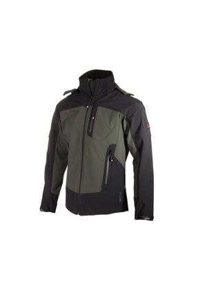 Cresta Outdoor Özel Üretim Kapüşonlu Soft-tech Softshell Ceket