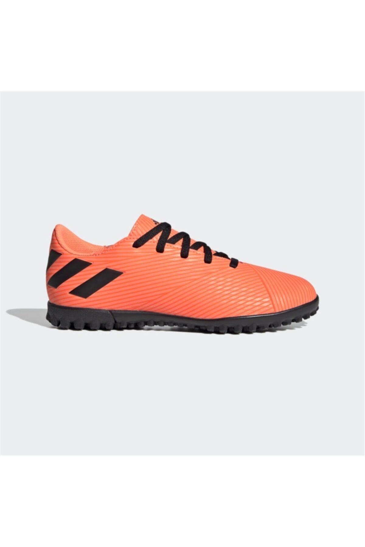 adidas Erkek Çocuk Turuncu Nemezız 19.4 Tf JHalı Saha Ayakkabısı 1
