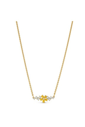 Swarovski Kolye Botanical-necklace Simple Czwh-gos 5535781