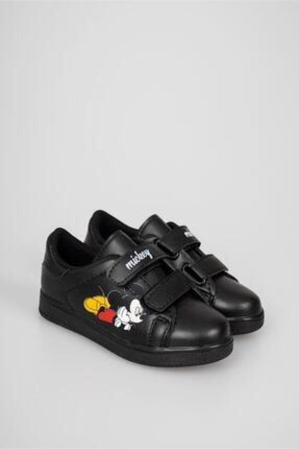 Talika Çocuk Siyah Çırtlı Günlük Spor Ayakkabı 1