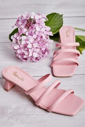 Bambi Pudra Kadın Sandalet L0533001509