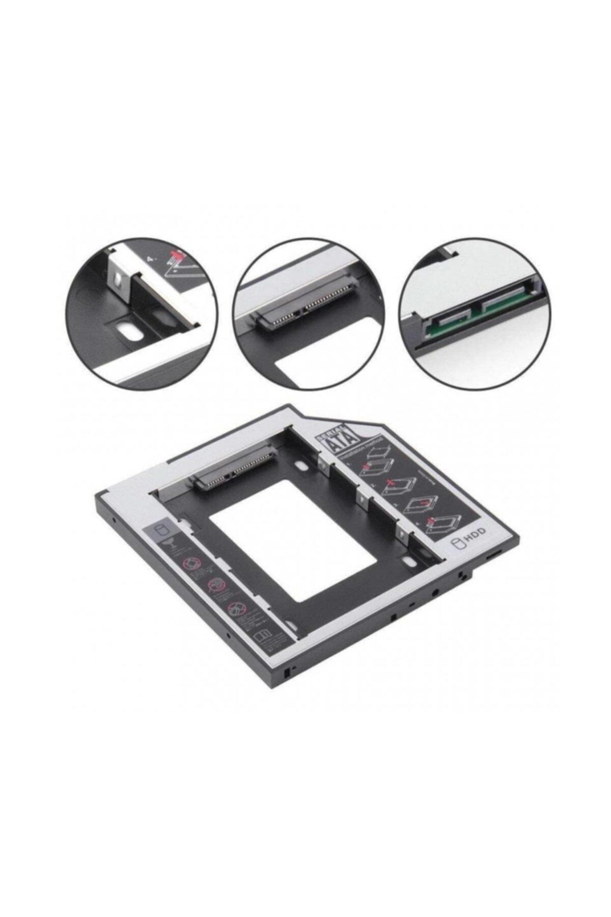 Concord 9.5mm Hdd Caddy Notebook Dvd Ssd Kutu Sata Laptop Notebook 2