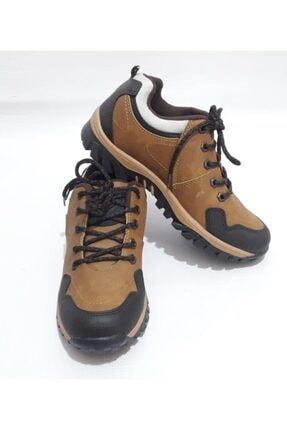 GEZER Unisex Kahverengi Kışlık Kaydırmaz Ayakkabı Bot