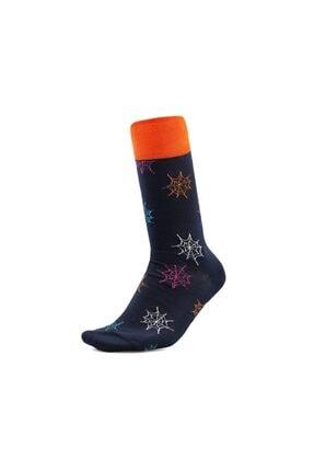 Korayspor Renkli Örümcek Ağı Çorap Ks 12