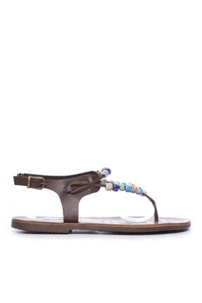 KEMAL TANCA Kadın Derı Sandalet Sandalet 607 Dk12 Bn Sndlt