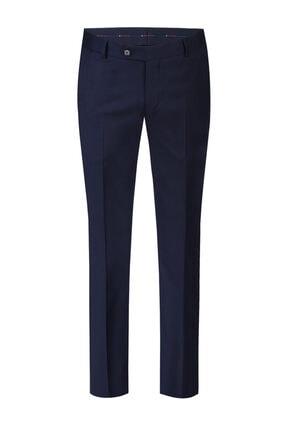 W Collection Lacivert Klasik Pantolon