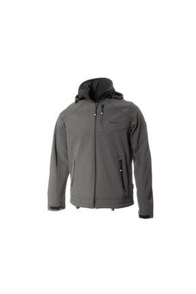 Cresta Outdoor Büyük Beden Kapüşonlu Softshell Ceket