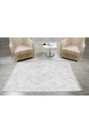 İpekçe Home Avangart Halı 120*180 Cm Silver