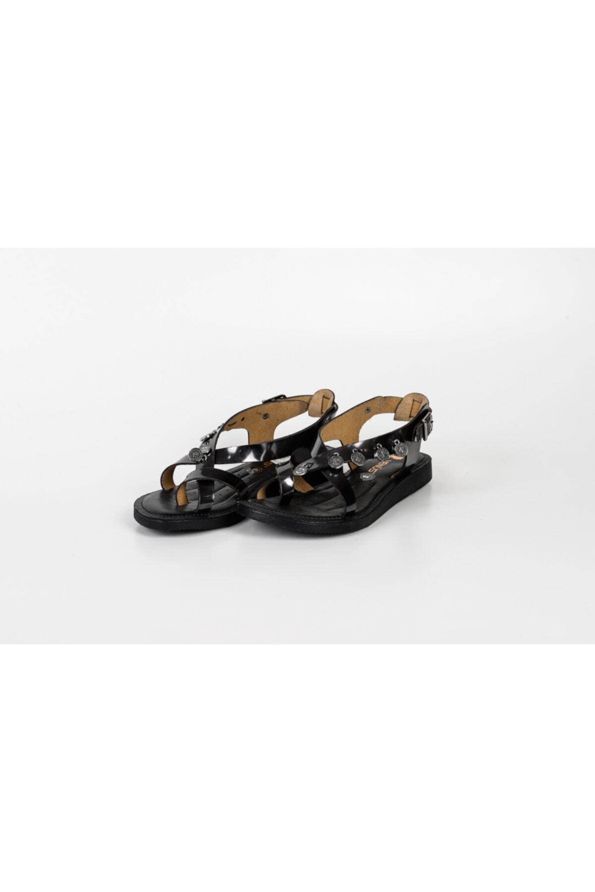 Venüs 20980209 Bayan Deri Sandalet Ortopedik 1