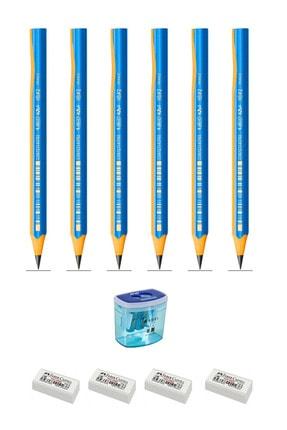 Bic Kids Evolution Üçgen Jumbo Başlangıç Kalemi Seti