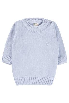 Civil Baby Erkek Bebek Triko Kazak 6-18 Ay Mavi
