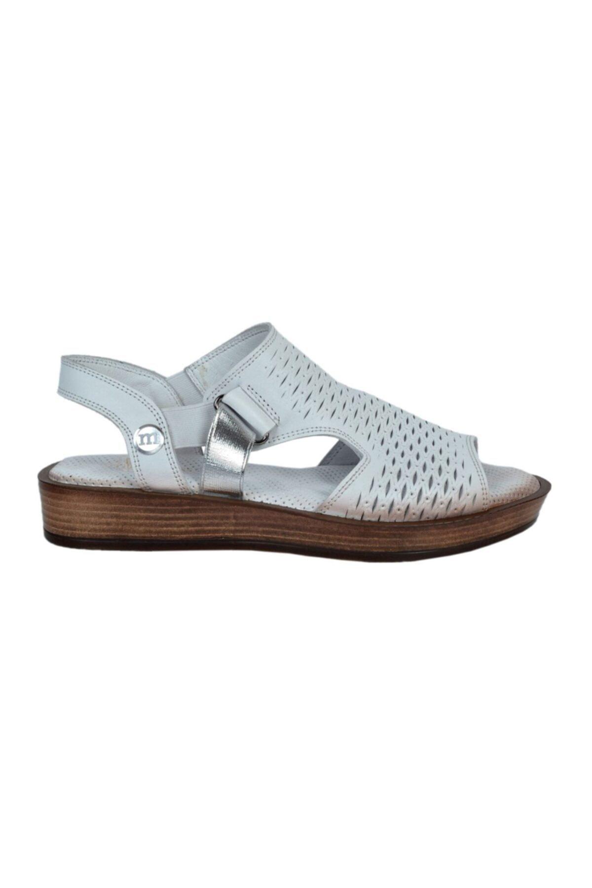 Mammamia Kadın Deri Sandalet 1645 1