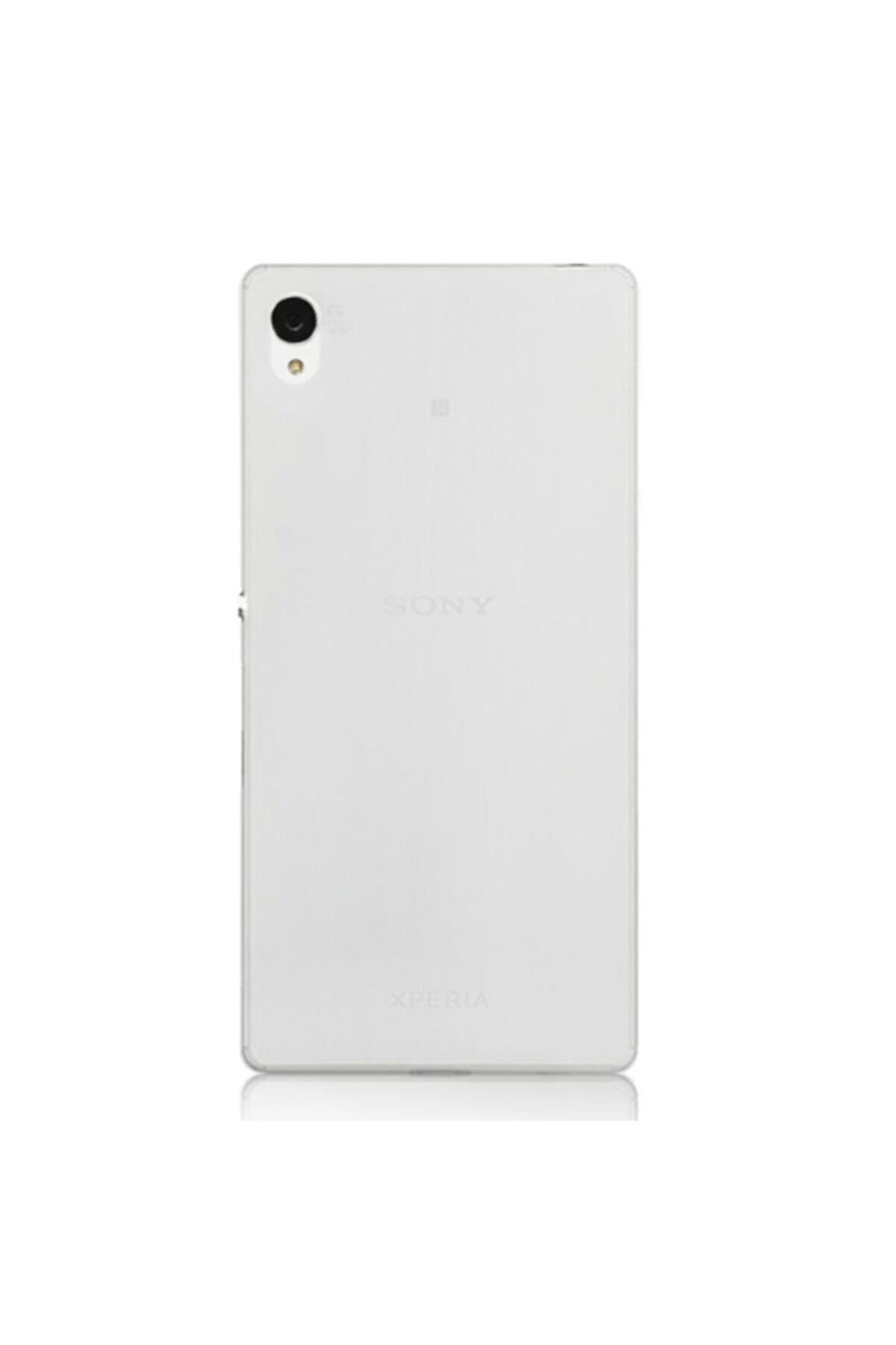 Sony Xperia Z4 Kılıf Soft Silikon Şeffaf Arka Kapak 1