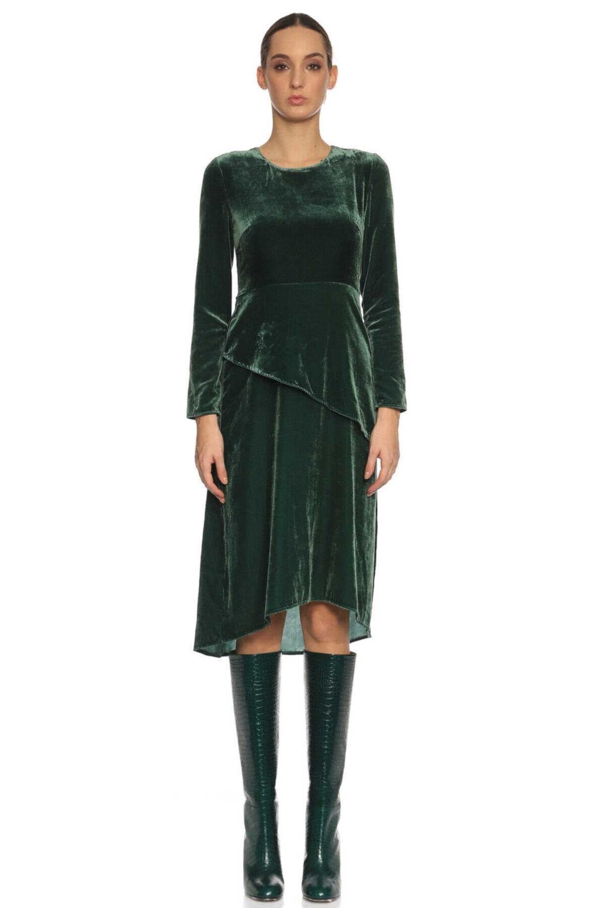 Maje Yeşil Elbise 2