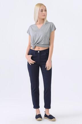 Gusto 5 Cepli Dar Paça Pantolon - Lacivert
