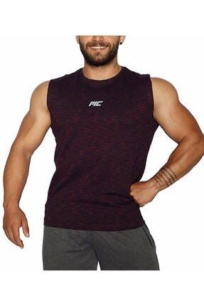 MUSCLECLOTH Pro Kolsuz T-shirt Bordo - X-large