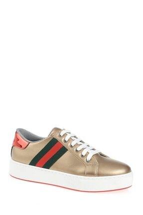 Derigo Altın Şerit Kadın Casuel Ayakkabı 221701