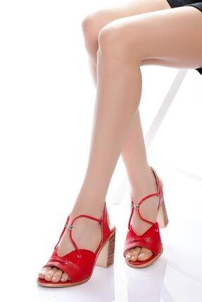 derithy -klasik Topuklu Ayakkabı-kırmızı
