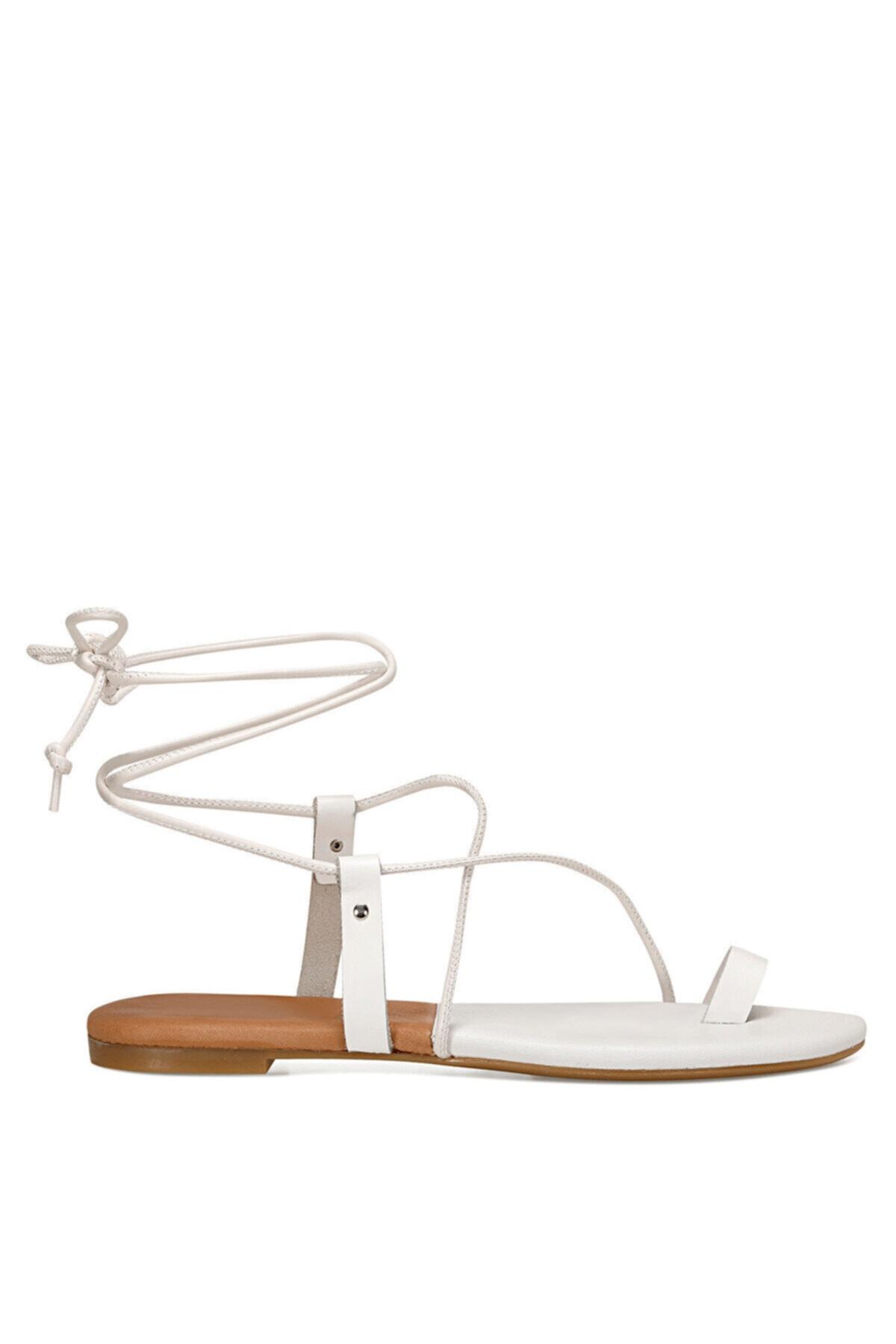 Nine West ALEX Beyaz Kadın Sandalet 100526325 1