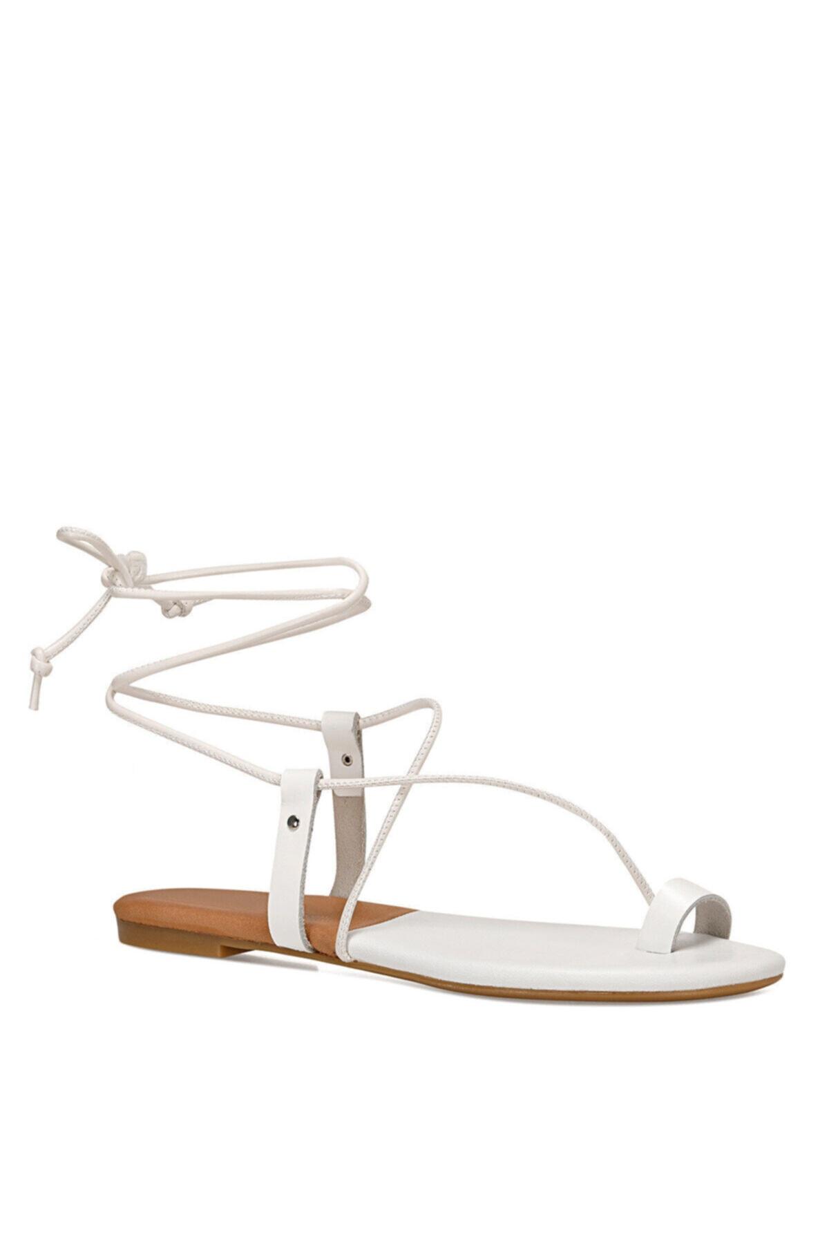 Nine West ALEX Beyaz Kadın Sandalet 100526325 2