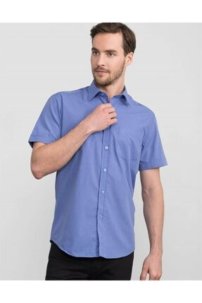 Tudors Klasik Fit Kısa Kol Erkek Gömlek