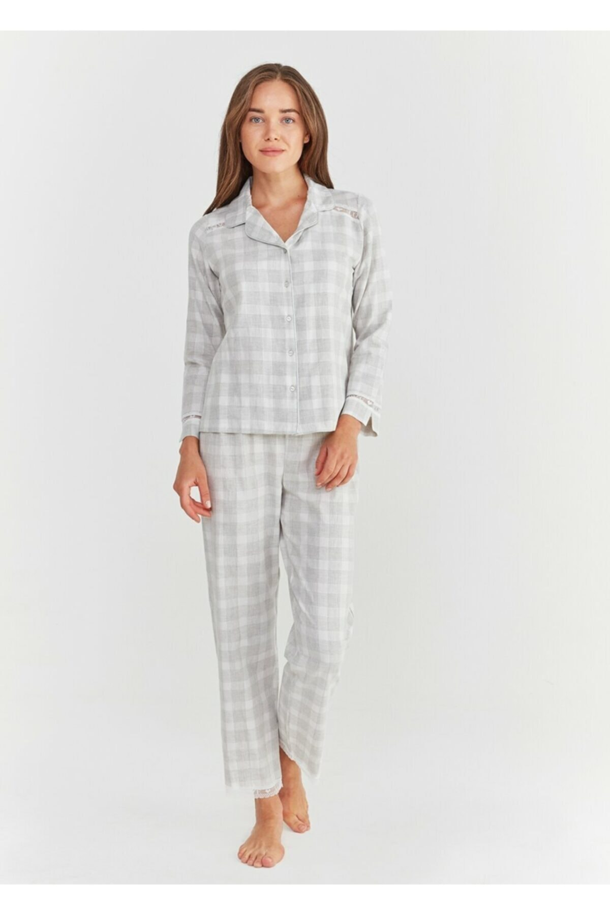 SUWEN Sofia Maskulen Pijama Takımı 2