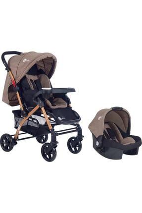 4 Baby Active Gold Travel Sistem Bebek Arabası Ve Puset