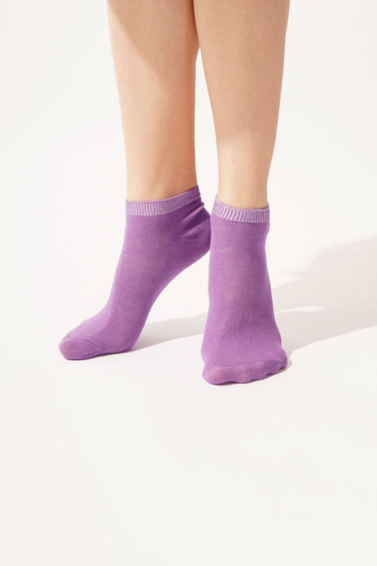 Katia&Bony 3 Lü Paket Autumn Kadın Step Çorap- Renkli 2