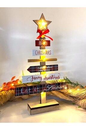 YİĞİTOĞLU DESIGN Özel Tasarım Işıklı Çan Zilli Yılbaşı Ağacı