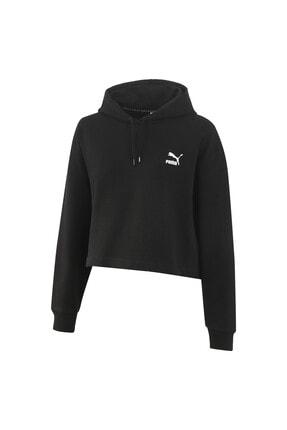 Puma Claw Kısa Kesim Kadın Kapüşonlu Sweatshirt