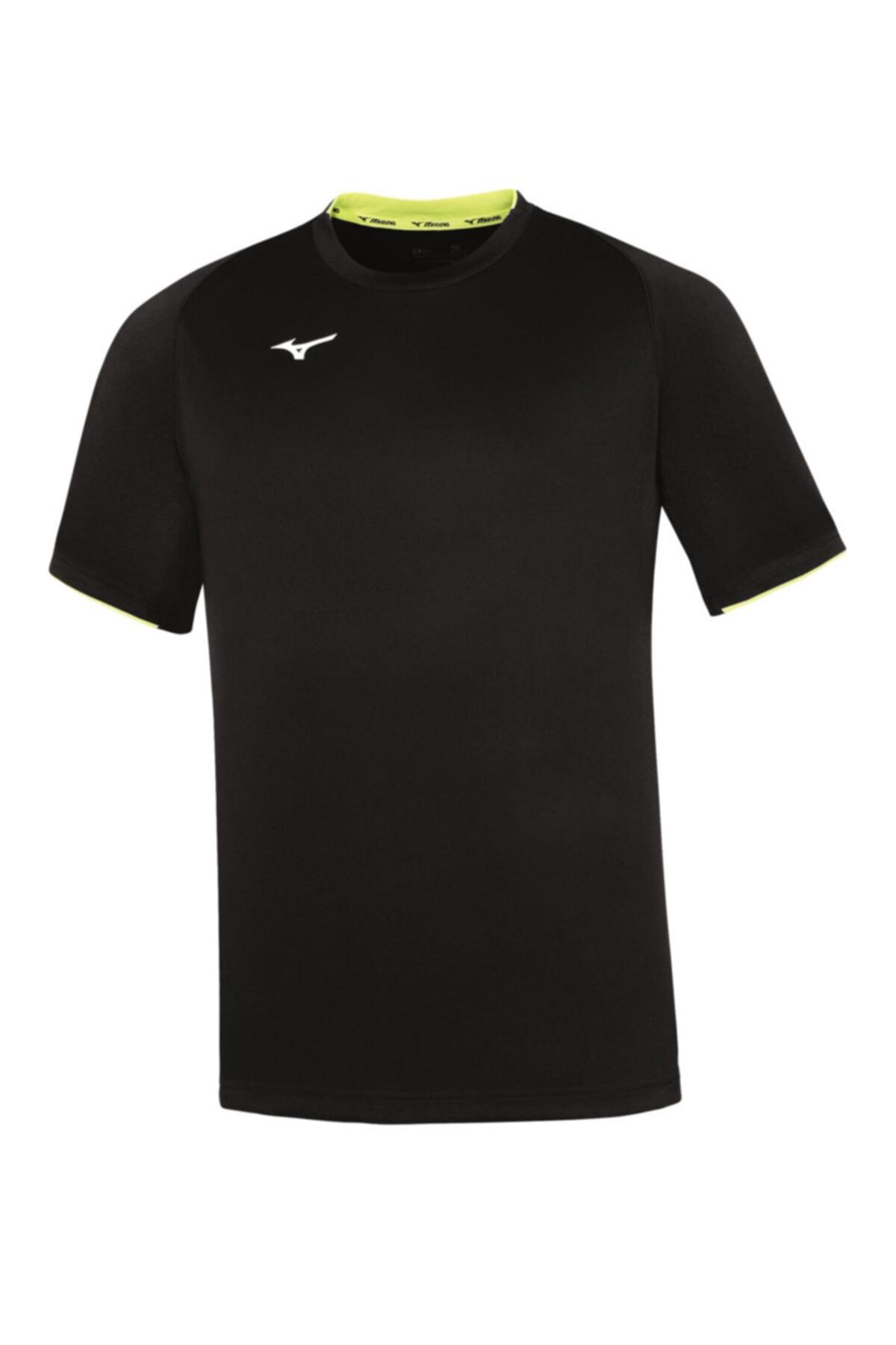 MIZUNO Men Core Ss Tee Erkek T-shirt Siyah 1