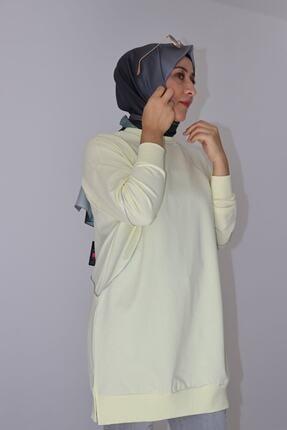 Loreen Simli Fitilli Yarasa Kol Spor Tunik