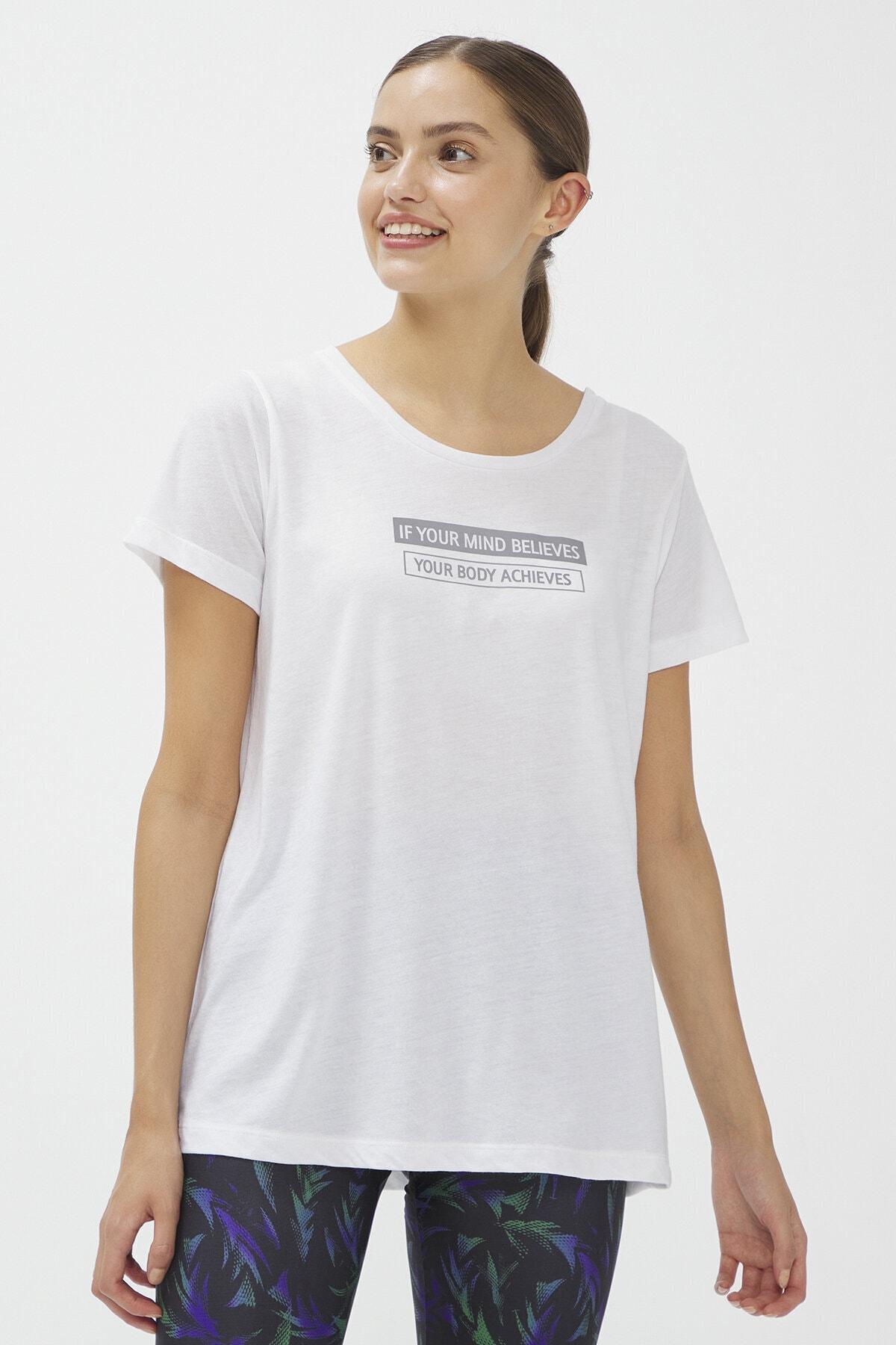 Penti Beyaz Reflected Tişört 1