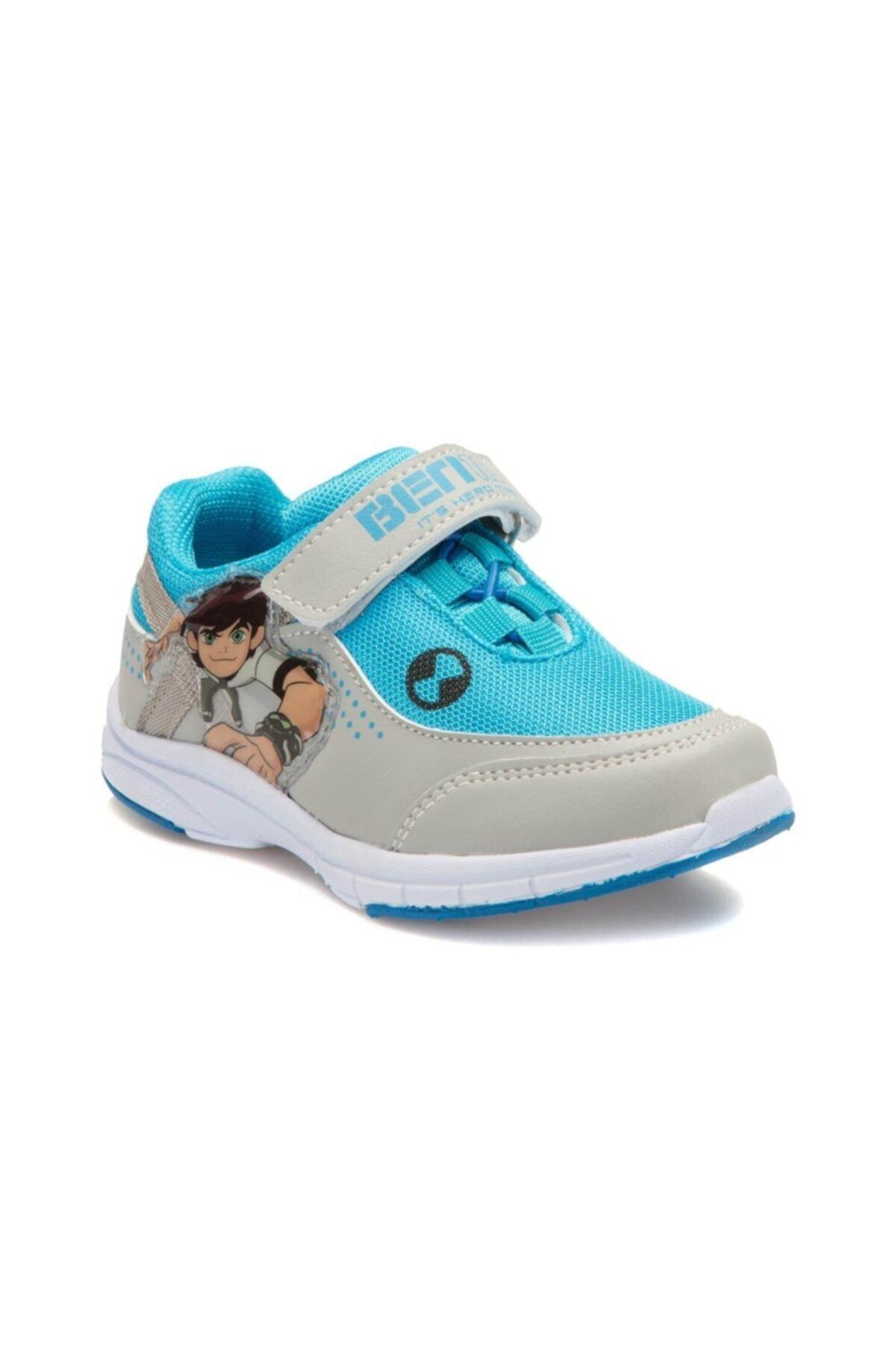 Ben 10 Ben10 Yeti Parlament Renk Erkek Çocuk Cırtlı Spor Ayakkabı 1
