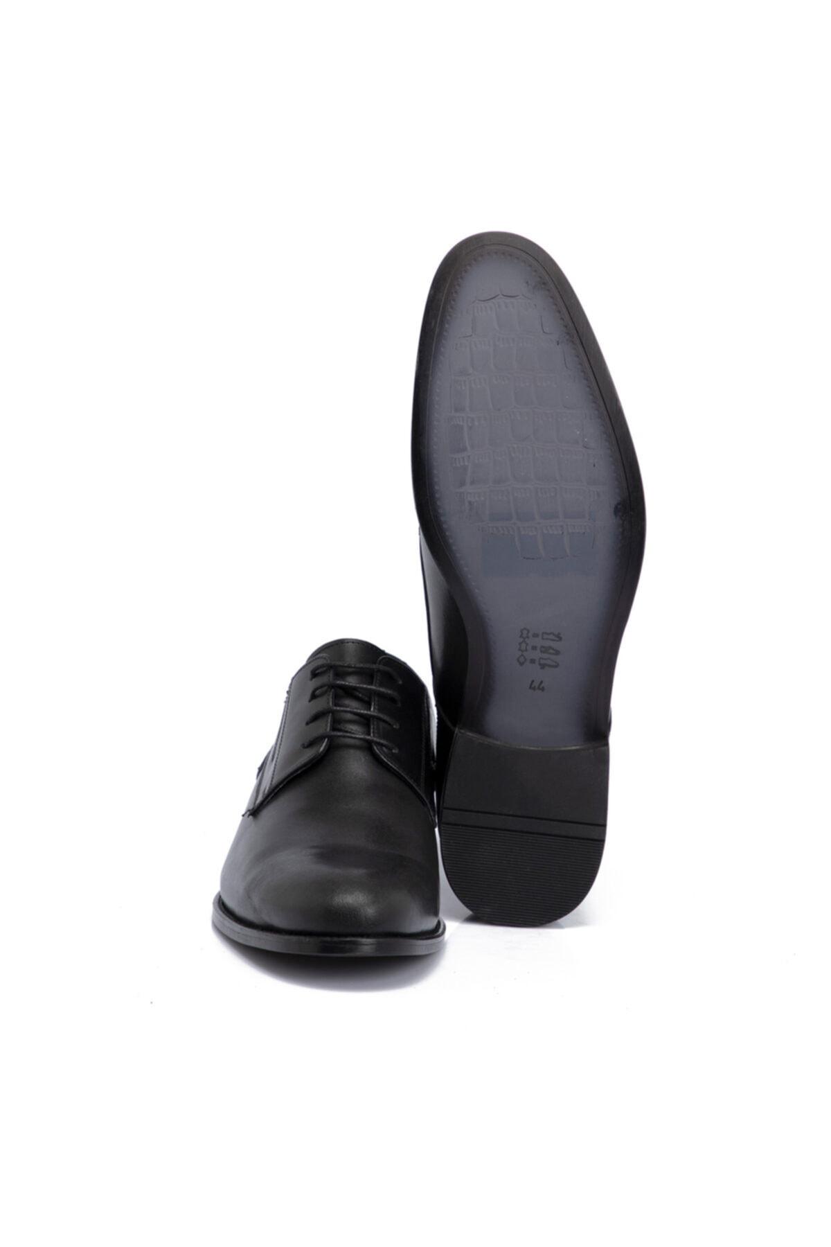 Tergan Siyah Deri Erkek Ayakkabı 54330a43 2