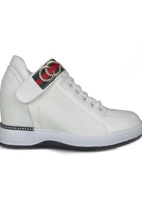 Guja 18k341-3 Kadın Gizli Dolgu Topuk Spor Ayakkabı - - 18k341-3 - Beyaz - 39