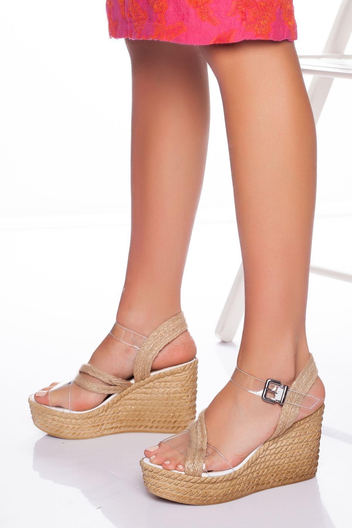derithy -dolgu Topuklu Ayakkabı-şeffaf 1