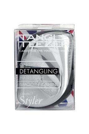 Tangle Teezer Saç Fırçası - Compact Styler Gümüş Tarak 5060173375072