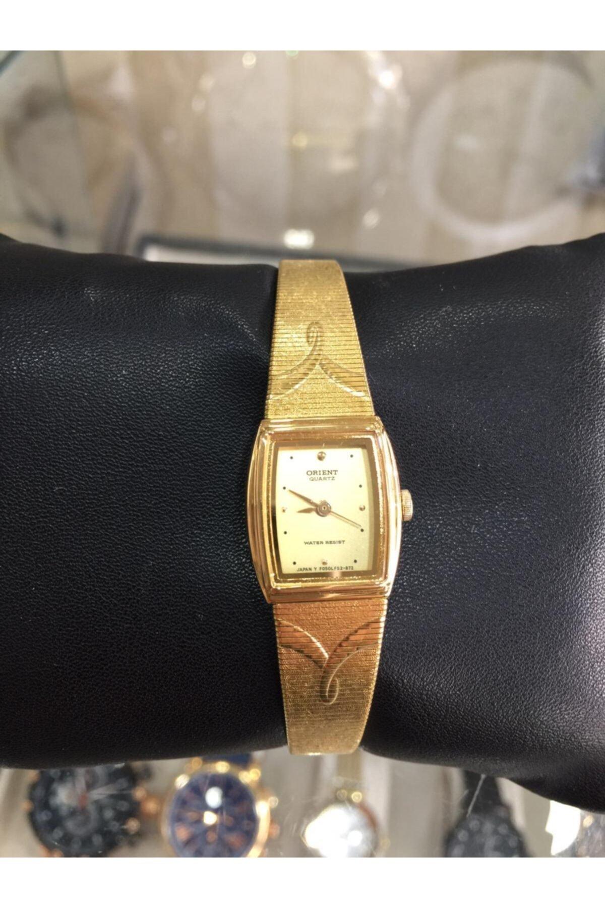 Orient Gold Renk Hasır Kordon Bayan Saat 1